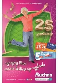 Gazetka promocyjna Auchan Hipermarket - Katalog kwiatów Auchan - ważna do 04-05-2021