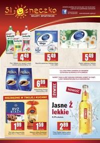 Gazetka promocyjna Słoneczko - Promocje w Słoneczko - podkarpackie, małopolskie, śląskie, - ważna do 03-05-2021