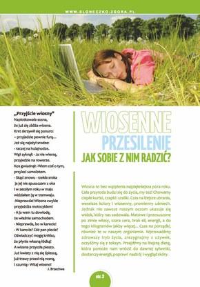 Wiosenny katalog Słoneczko