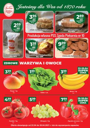 Szeroki wybór w PSS Zgoda Płock