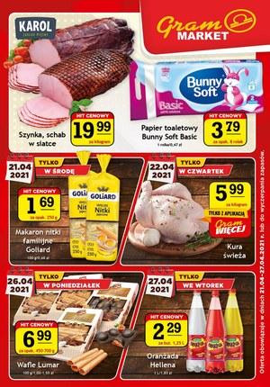 Gazetka promocyjna Gram Market - Najnowsza oferta Gram Market