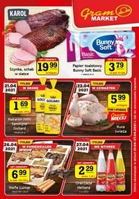 Gazetka promocyjna Gram Market - Najnowsza oferta Gram Market - ważna do 27-04-2021