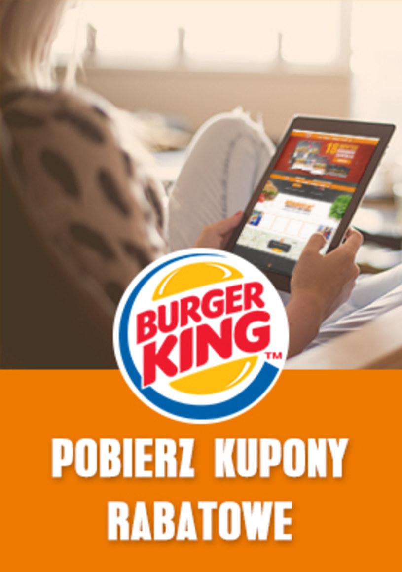 Burger King: 1 gazetka