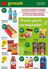 Gazetka promocyjna Groszek  - Gotowi na majówkę z Groszkiem! - ważna do 04-05-2021