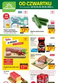 Gazetka promocyjna Stokrotka Supermarket - Od czwartku w Stokrotce - ważna do 28-04-2021
