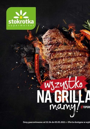 Gazetka promocyjna Stokrotka Supermarket - Wszystko na grilla mamy - Stokrotka Supermarket