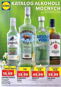 Lidl - katalog alkoholi mocnych