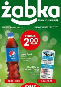 Gazetka promocyjna Żabka - Same promocje w Żabce - ważna do 27-04-2021
