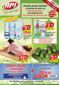Gazetka promocyjna Api Market - Zawsze udane zakupy w Api Market!  - ważna do 27-04-2021
