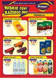 Niskie ceny każdego dnia w Primus