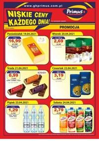 Gazetka promocyjna Primus - Niskie ceny każdego dnia w Primus - ważna do 24-04-2021