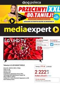 Gazetka promocyjna Media Expert - Przeceny XXL w Media Expert - ważna do 02-05-2021