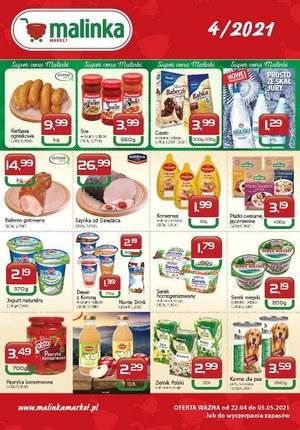 Gazetka promocyjna MALINKA Market - Super cena Malinki
