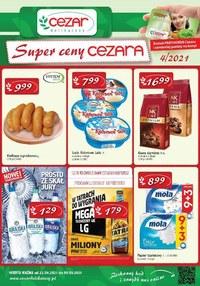 Gazetka promocyjna Delikatesy CEZAR - Super ceny w Delikatesy Cezar - ważna do 05-05-2021