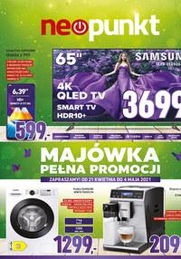 Gazetka promocyjna NEOPUNKT - Neopunkt - Majówka pełna promocji - ważna do 04-05-2021