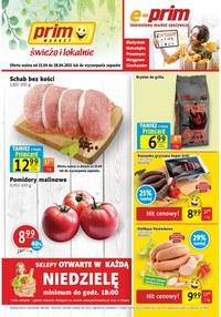Gazetka promocyjna Prim Market - Świeżo i tanio w Prim Market!   - ważna do 28-04-2021