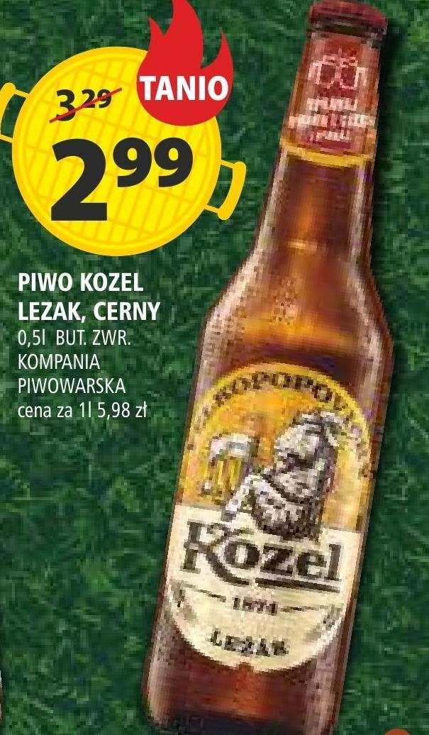 Piwo Kozel niska cena