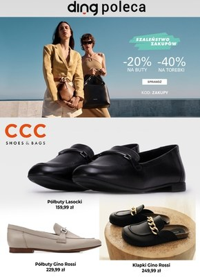 Najlepsze obuwie na wiosnę w CCC