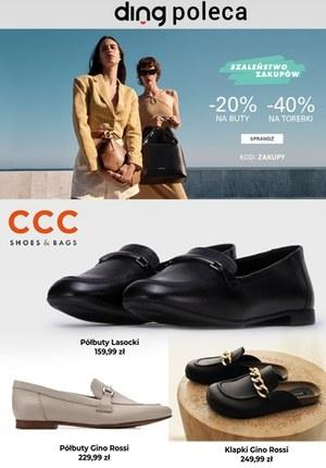 Gazetka promocyjna CCC - Najlepsze obuwie na wiosnę w CCC
