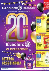 Gazetka promocyjna E.Leclerc - Sposób na piękno Rzeszów   - ważna do 15-05-2021
