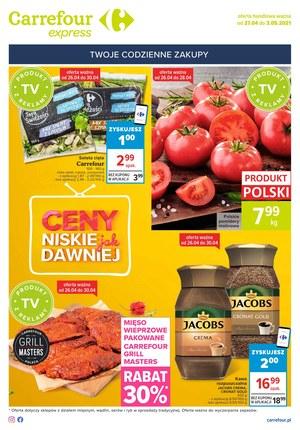 Gazetka promocyjna Carrefour Express - Super ceny w Carrefour Express