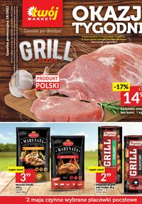 Gazetka promocyjna Twój Market - Okazje tygodnia w Twój Market!    - ważna do 04-05-2021