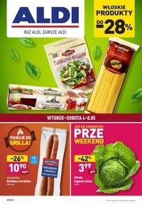 Gazetka promocyjna Aldi - Artykuły spożywcze w Aldi - ważna do 08-05-2021