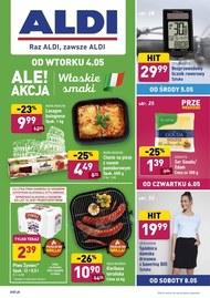 Pełna oferta promocyjna Aldi