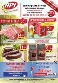 Gazetka promocyjna Api Market - Czas na grilla z Api Market - ważna do 04-05-2021