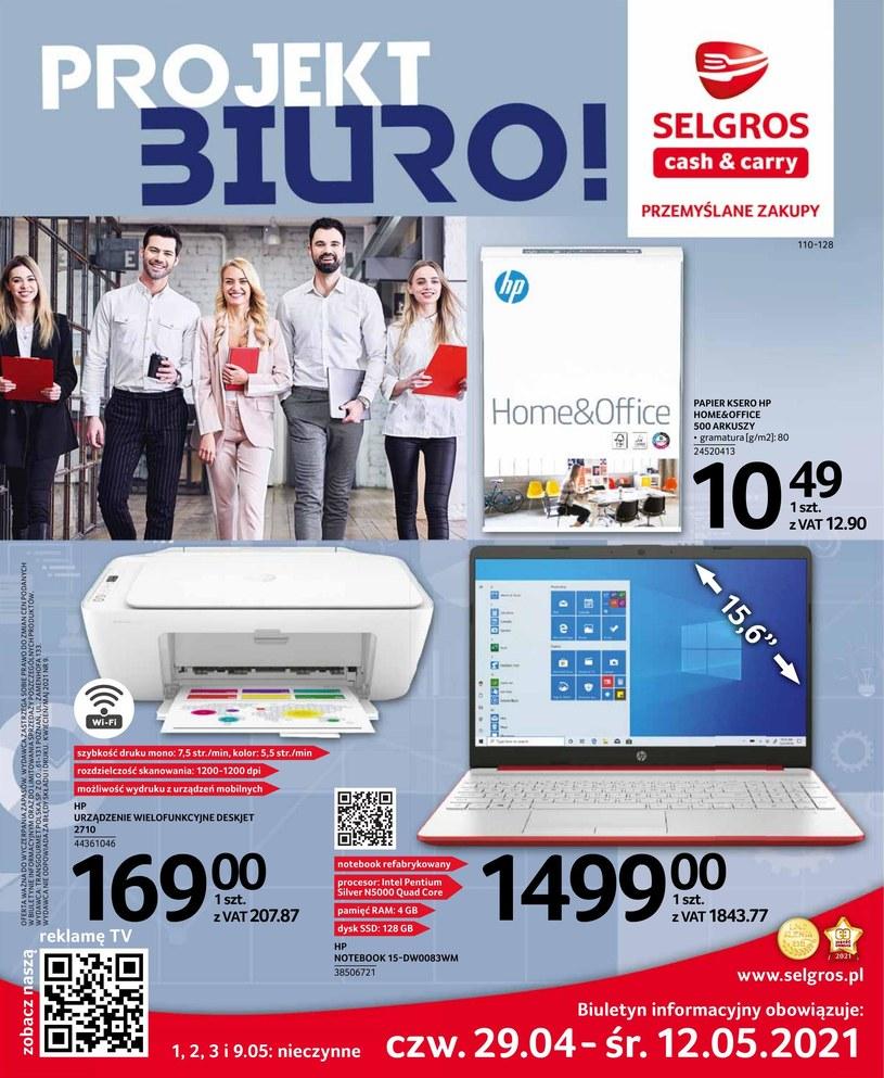 Gazetka promocyjna Selgros Cash&Carry - ważna od 29. 04. 2021 do 12. 05. 2021