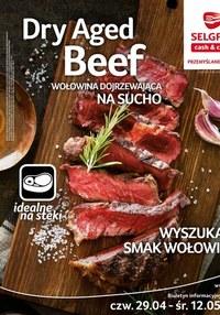 Gazetka promocyjna Selgros Cash&Carry - Selgros - oferta specjalna z wołowiną - ważna do 12-05-2021