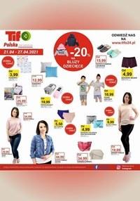 Gazetka promocyjna Tifo - Promocja na bluzy dziecięce w Tifo   - ważna do 27-04-2021
