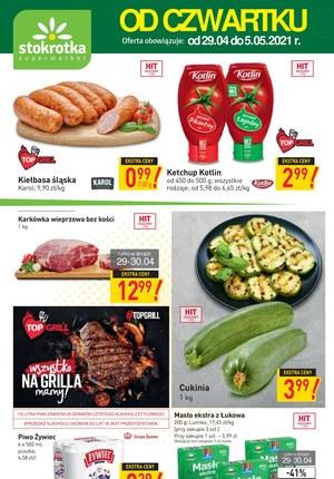 Gazetka promocyjna Stokrotka Supermarket - Wielkie grillowanie ze Stokrotką