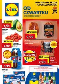 Gazetka promocyjna Lidl - Od czwartku w Lidlu!   - ważna do 01-05-2021