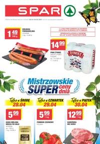 Gazetka promocyjna SPAR - Super cena w SPAR   - ważna do 04-05-2021