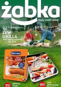 Gazetka promocyjna Żabka - Zew grilla w Żabce - ważna do 11-05-2021