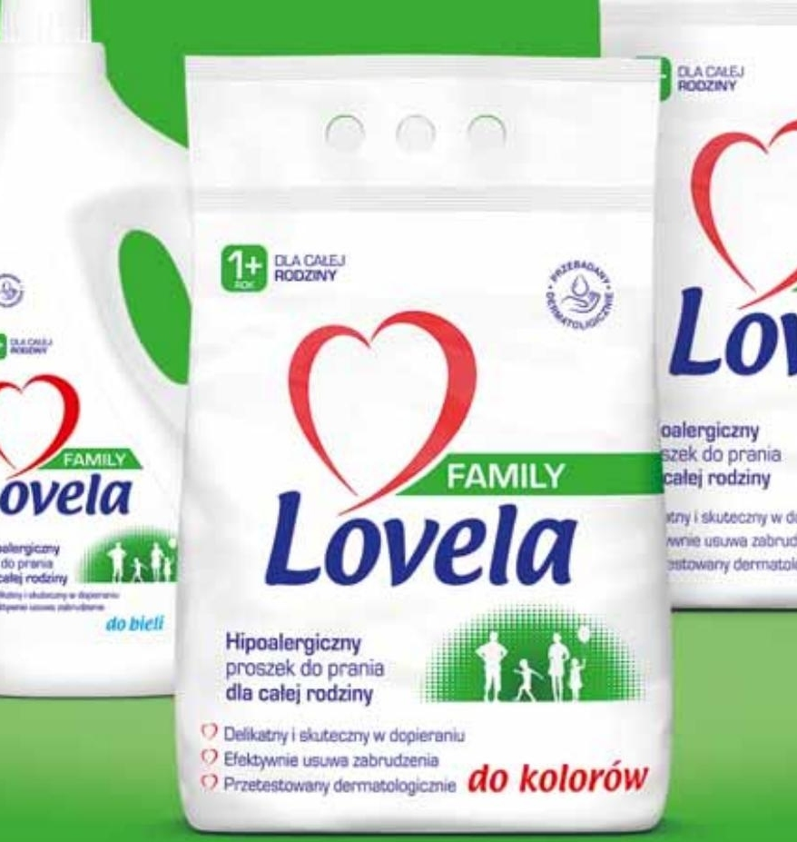 Proszek do prania Lovela niska cena