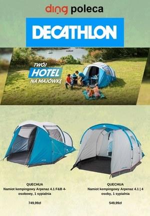 Gazetka promocyjna Decathlon - Twój hotel na majówkę z Decathlon