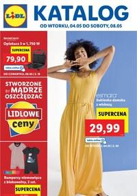 Gazetka promocyjna Lidl - Lidl - moda w niskich cenach - ważna do 08-05-2021