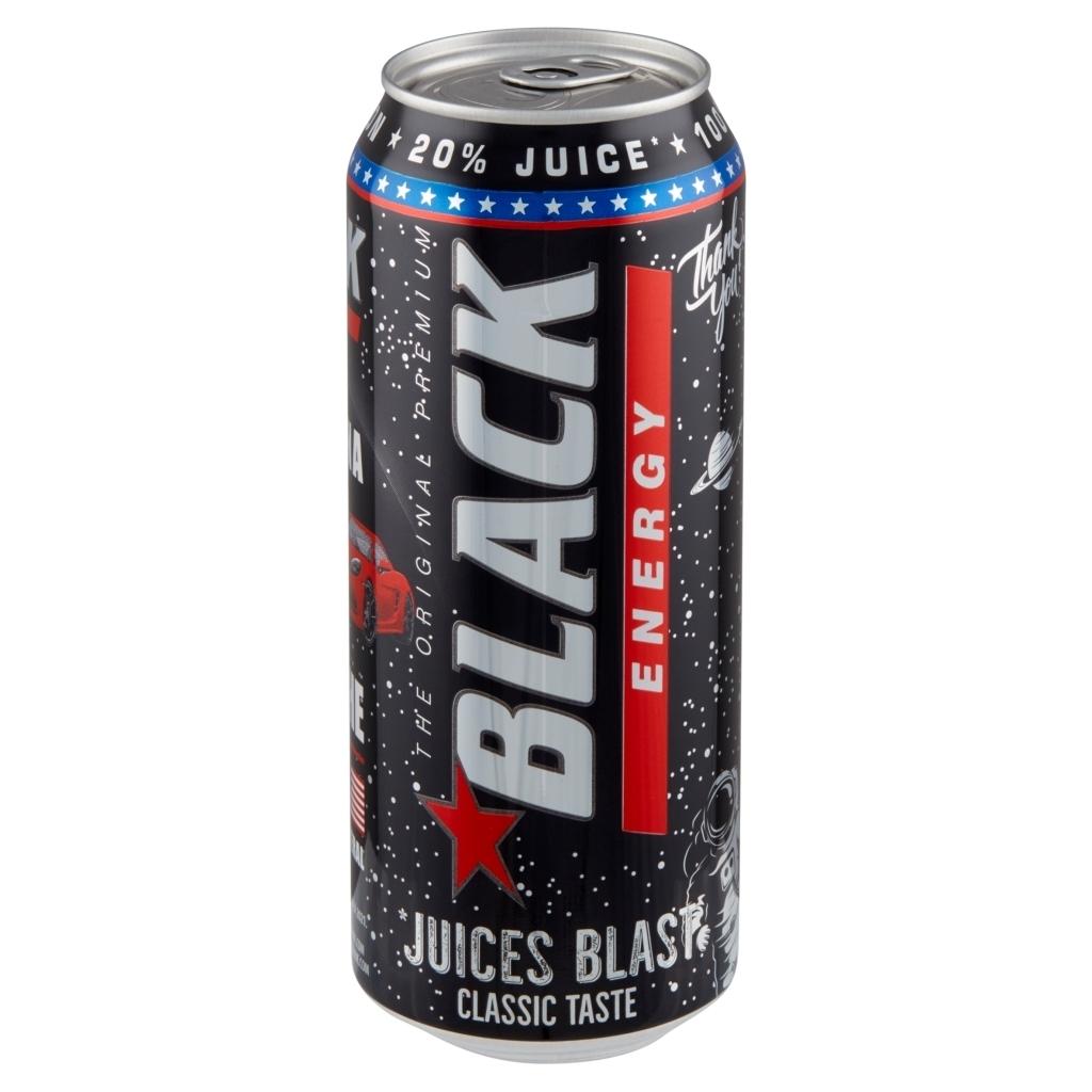 Napój energetyczny Black - 0