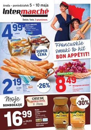 Gazetka promocyjna Intermarche Super - Francuskie smaki w Intermarche