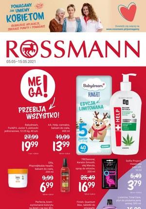 Gazetka promocyjna Rossmann - Rossmann - promocje na maj