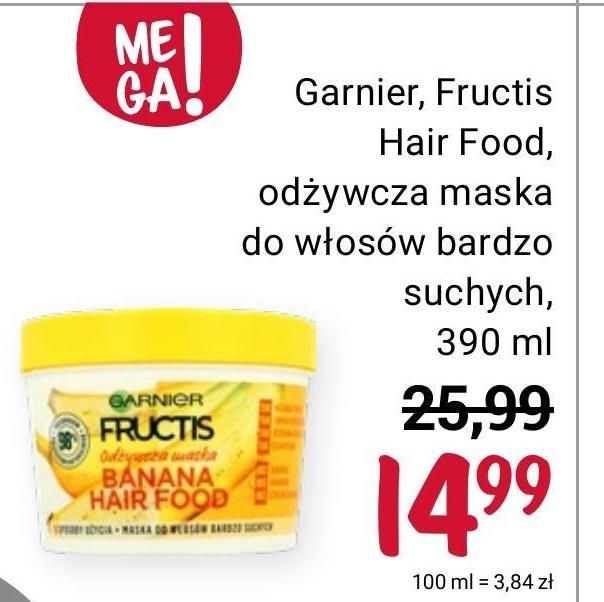 Maska do włosów Garnier niska cena