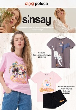Gazetka promocyjna Sinsay - Wiosenna promocja w Sinsay