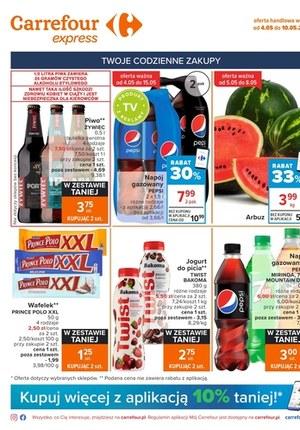 Gazetka promocyjna Carrefour Express - Oferta handlowa Carrefour Express