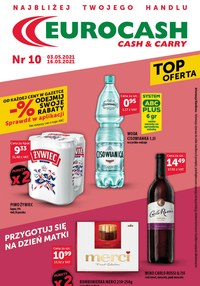 Gazetka promocyjna Eurocash Cash&Carry - Euro Cash & Carry - Top Oferta - ważna do 16-05-2021
