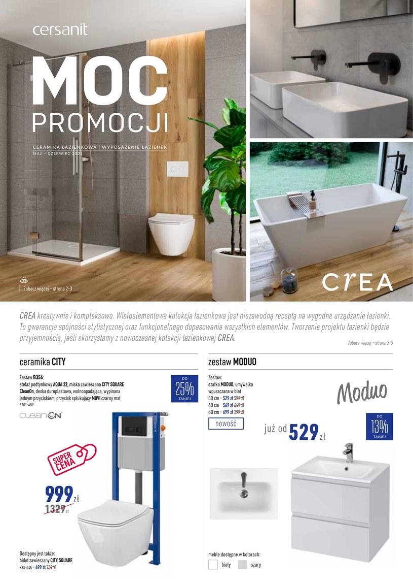 Gazetka promocyjna Cersanit - ważna od 01. 05. 2021 do 30. 06. 2021