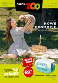 Gazetka promocyjna Aquaelzoo - Aquael Zoo - majowe promocje - ważna do 31-05-2021