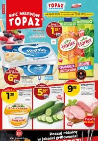 Gazetka promocyjna Topaz - Oferta handlowa sieci Topaz - ważna do 12-05-2021