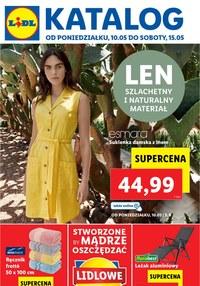 Gazetka promocyjna Lidl - Len, to co najlepsze z natury - Lidl - ważna do 15-05-2021